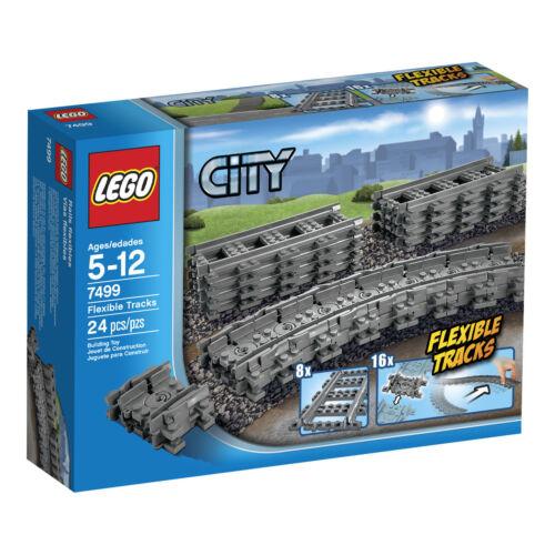 LEGO® City Eisenbahn Set 7499 Gerade Flexible 7897//7898//7938//7939//3677//10219