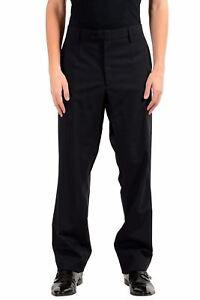 Dolce-amp-Gabbana-Homme-Laine-Noir-Robe-Pantalon-Nous-38-It