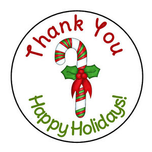 24-PERSONALIZED-CANDY-CANE-THANK-YOU-CHRISTMAS-LABELS-ROUND-STICKERS-1-67-034
