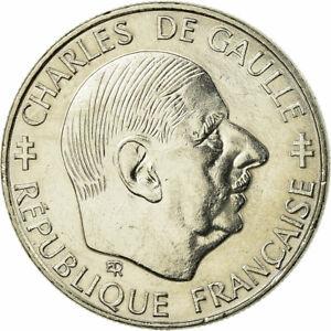728402-Coin-France-Charles-de-Gaulle-Franc-1988-Paris-EF-40-45