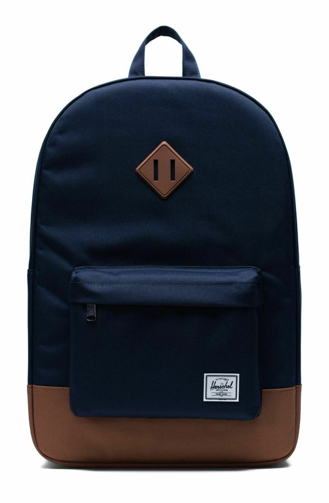 Backpack Herschel Heritage Peacoat  Saddle Marronee