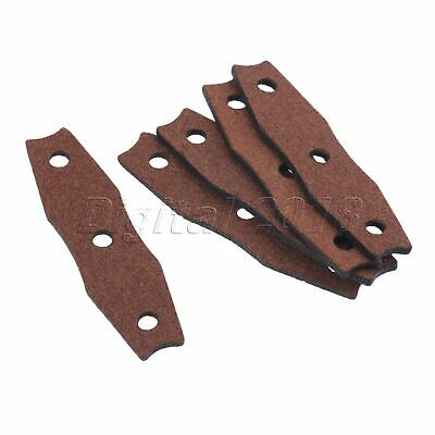 Microfiber Leather Outdoor Hunting Catapult Slingshot Pouches Set of 5//10//20PCS