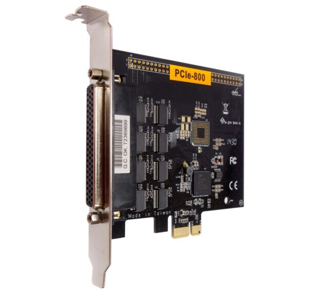card PCI Express VSCom 2-port RS232 Serial PCIex