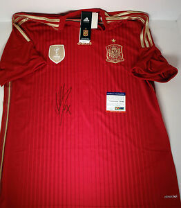 DAVID-VILLA-SPAIN-2010-WORLD-CUP-CHAMP-NYCFC-SIGNED-AUTOGRAPH-JERSEY-PSA-DNA-COA