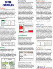 Excel Formulas Laminated Tip Card: Formulas & Functions from MrExcel by Bill Jelen (Pamphlet, 2013)