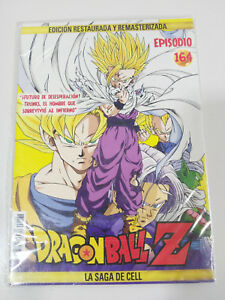 DRAGON-BALL-Z-LA-SAGA-DE-CELL-2-X-DVD-SOBRE-CARTON-CAPITULOS-164-165-NUEVO