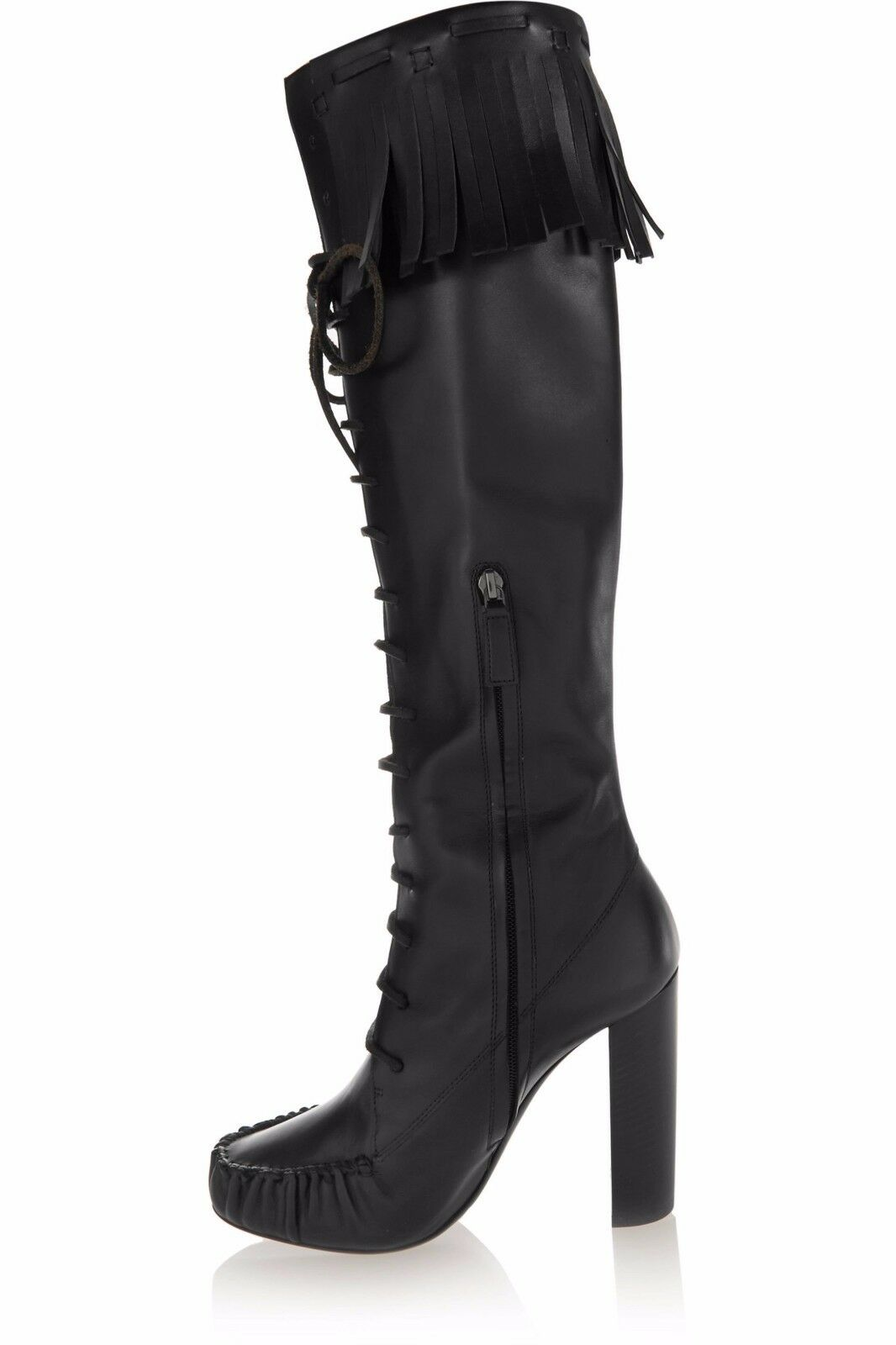 TOM FORD FORD FORD FRINGED LEATHER KNEE Stiefel 518f46