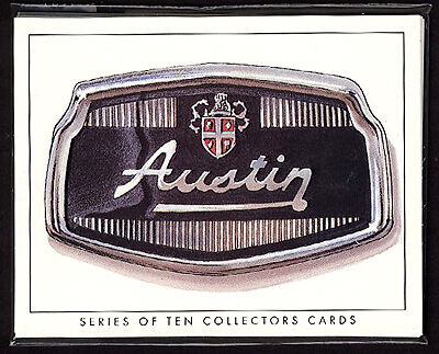 AUSTIN Original Collectors Card Set A35 A40 1100 Mini Westminster Metropolitan