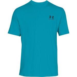 Under Armour Sport Style Left Chest Short Manche Shirt T-shirt Deceit 1326799-439-afficher Le Titre D'origine Pour ExpéDition Rapide