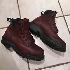 Vintage Red Wing boots shoes steel toe leather size 6 work boots oil resistant