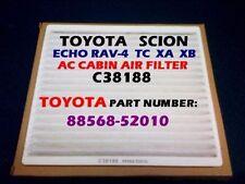 SCION TC XA XB TOYOTA Rav-4 Echo AC CABIN AIR FILTER OEM PREMIUM QUALITY