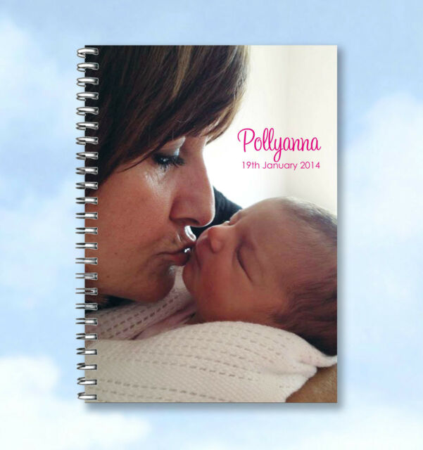 Personalised A6 Notebook Photo Upload your photo - great gift idea