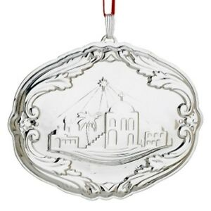 Amp barton sterling francis first pattern annual songs xmas ornament
