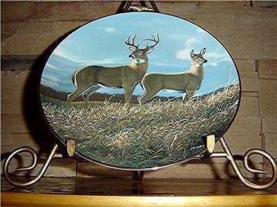 Autumn Hillside~Friends of the Forest Deer Miller Plate
