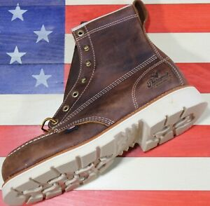 Thorogood-American-Heritage-6-034-Safety-Steel-Toe-Work-Boot-804-4375-Defect-9-D