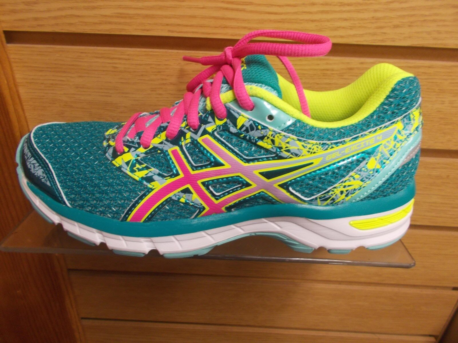 ASICS T6E8N femmes GEL EXCITE 4 RUNNING OR WALKING chaussures MEDIUM (B) MULTI TailleS