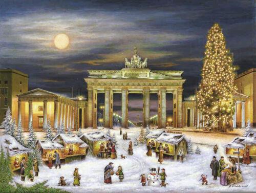 Nostalgie Adventskalender Berlin Bach in Leipzig J.S Leipzig