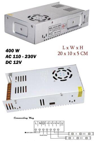 CCTV Lighting Power Supply DC12V 400W LED Driver Adapter LED Strip