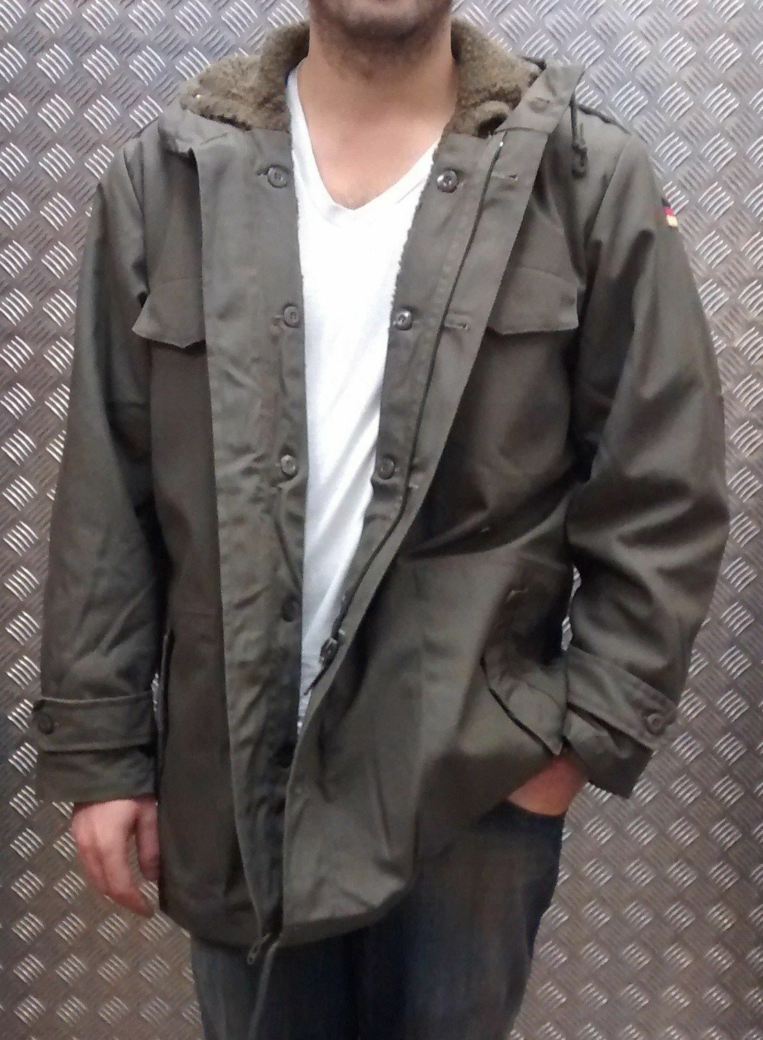 German Military Style Parka Fully Lined Green MOD Scooter Bikers - All Sizes NEW