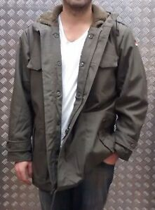 German-Military-Style-Parka-Fully-Lined-Green-MOD-Scooter-Bikers-All-Sizes-NEW