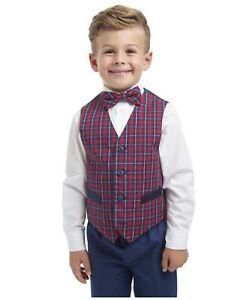 Nautica Boys Little 4-Piece Set with Dress Shirt and Pants Bow Tie Vest Midnight Blue