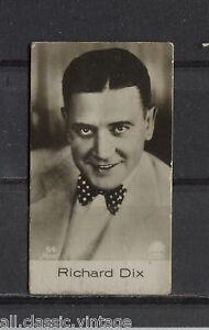 Richard-Dix-Vintage-Movie-Film-Star-Trading-Photo-Card-1930-039-s-Ross-54