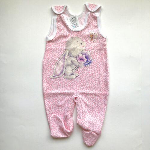 Recién nacidos 0-3 meses 3-6 meses Bebé Niño Niña Peto con pies 100/% algodón!