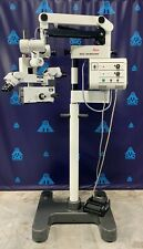 Leica Wild M691 Mel48 Surgical Microscope With Dual Binoculars Foot Control
