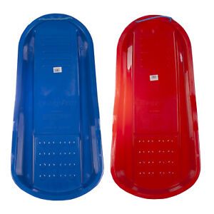 Winter Snow Outdoor Swordfish Sledge/ Toboggan Available In Red & Blue
