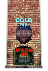 Chimney Balloon Fireplace Draft Stopping Plug Damper Ebay