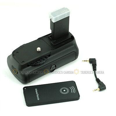 Vertical Battery Grip for Canon EOS 100D Kiss X7 Rebel SL1 +IR Remote fit LP-E12