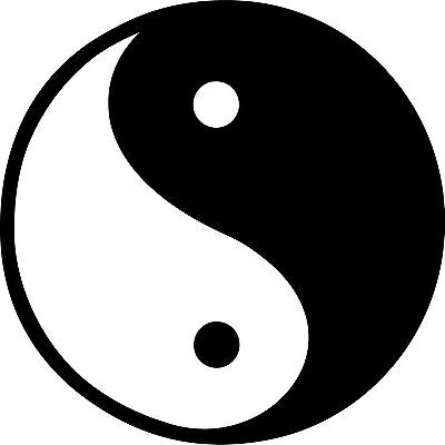 Ying Yang 15x10 FT Vinyl Photo Backdrops,Digital Style Yin Yang Symbol Form Nature Zen Themed Meditation Dots Print Background for Selfie Birthday Party Pictures Photo Booth Shoot
