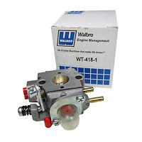 Genuine Walbro Carburetor Wt-418-1 Srm-3100 Srm-3110 Srm-340 Srm-3400 Trimmer