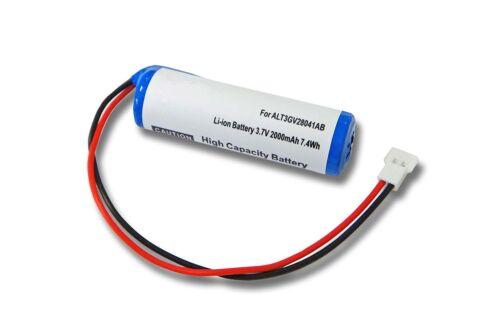 Universal batería Ni-MH 1.2v 2000mah 69x18,6mm
