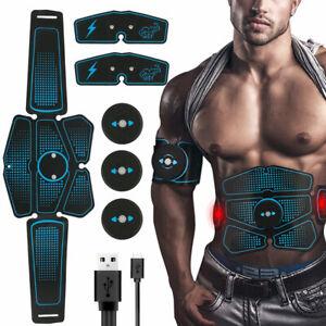 Action-Ceinture-Abdominale-Electrostimulation-Gym-Fitness-Abdos-Appareil-6-Modes