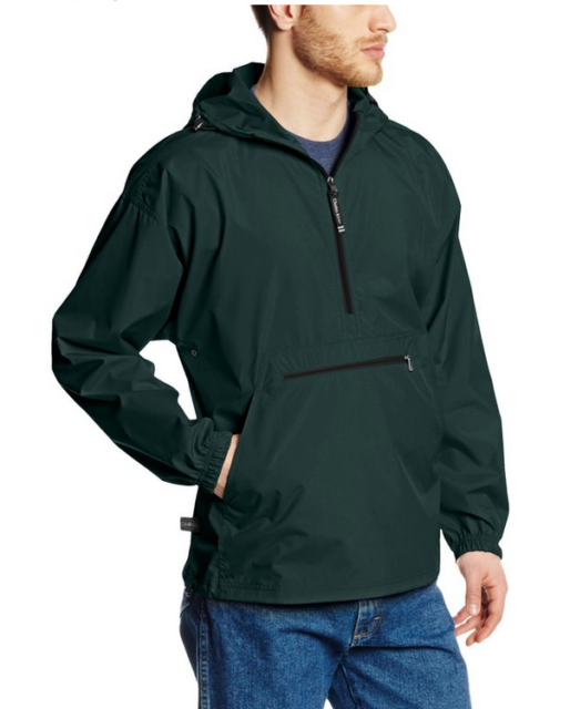 Charles River Apparel Men/'s Outerwear Reg//Ext Sizes Charles River Apparel Pack-N-Go Wind /& Water-Resistant Pullover