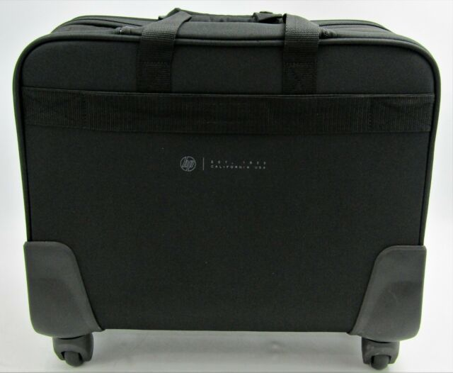 Hp 17 3 Notebook Business Carryall Wheeled Roller Case Bag 2sc68aa For Sale Online