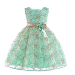 Kid-flower-girl-wedding-bridesmaid-tutu-dress-princess-formal-kid-baby-dresses