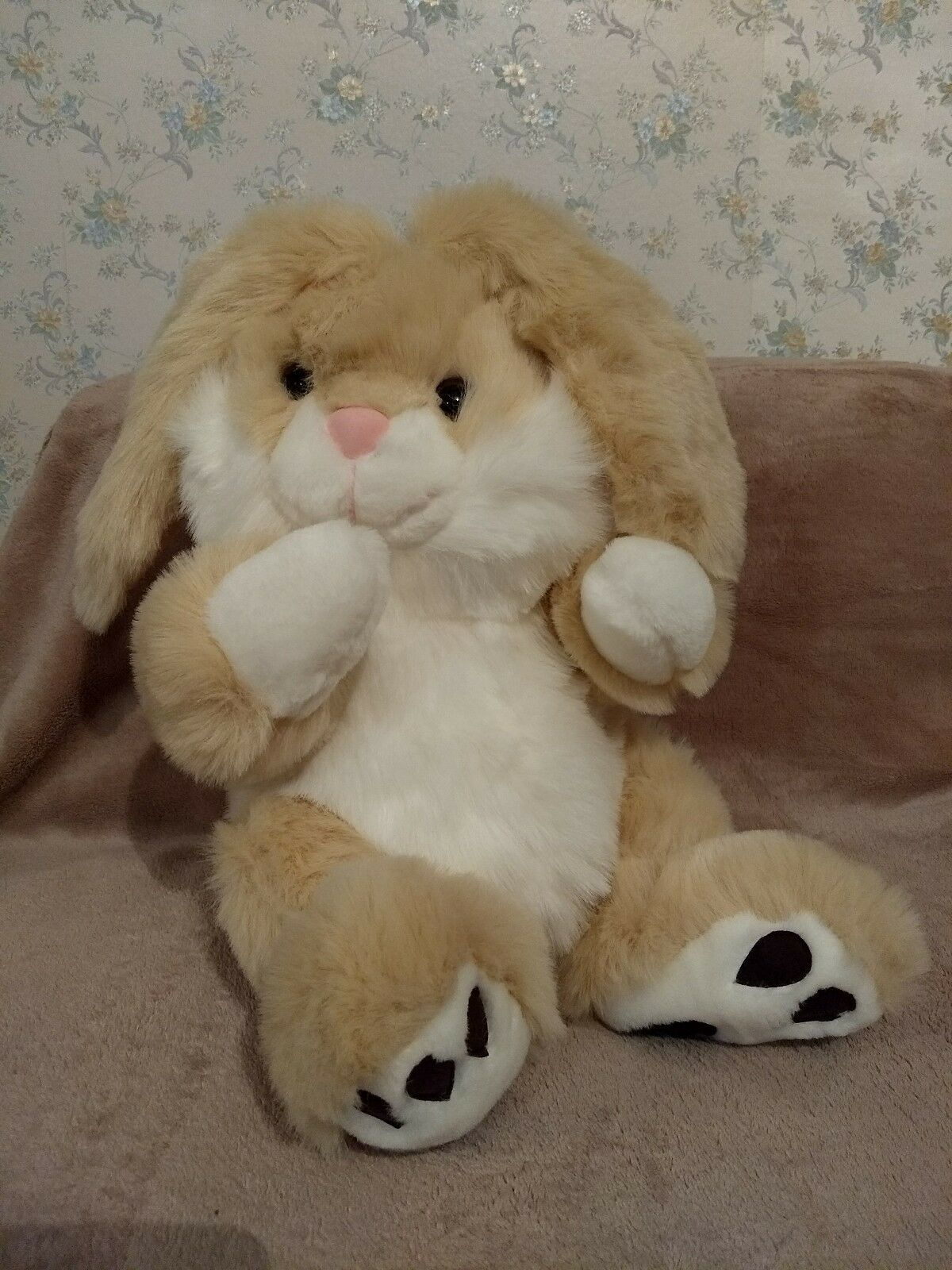 New Large Bunny Rabbit Cuddly Soft Toy Christmas Gift, Birthday Gift