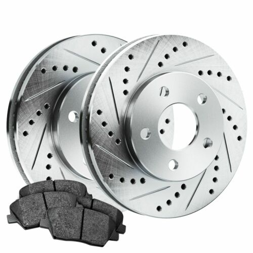 Ceramic Brake pads BLCR.63153.02 PowerSport Rear Drill Slot Rotors