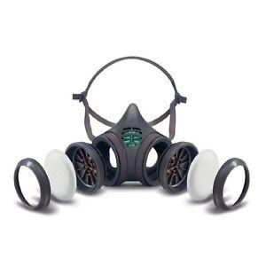 Moldex Atemschutzmaske 8000 Mehrwegmaske FFP3 P3 Atemschutz Staubmaske