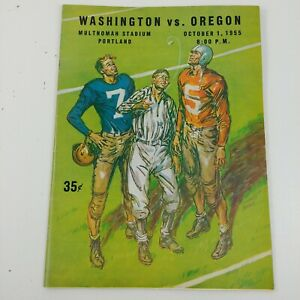 College-Football-Program-Washington-UW-Huskies-vs-Oregon-UO-Ducks-1955