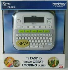 Brother P Touch Ptd210 Easy To Use Desktop Label Maker One Touch Keys New
