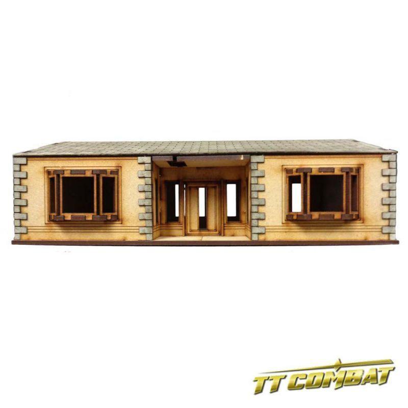Ttcombat Suburban House E 1 3 32in Terrain Building Building Building City Streets Home Scenery 9e86bf