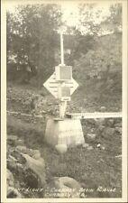 Chambly Quebec Chambly Basin Range Rear Lighthouse Real Photo Postcard