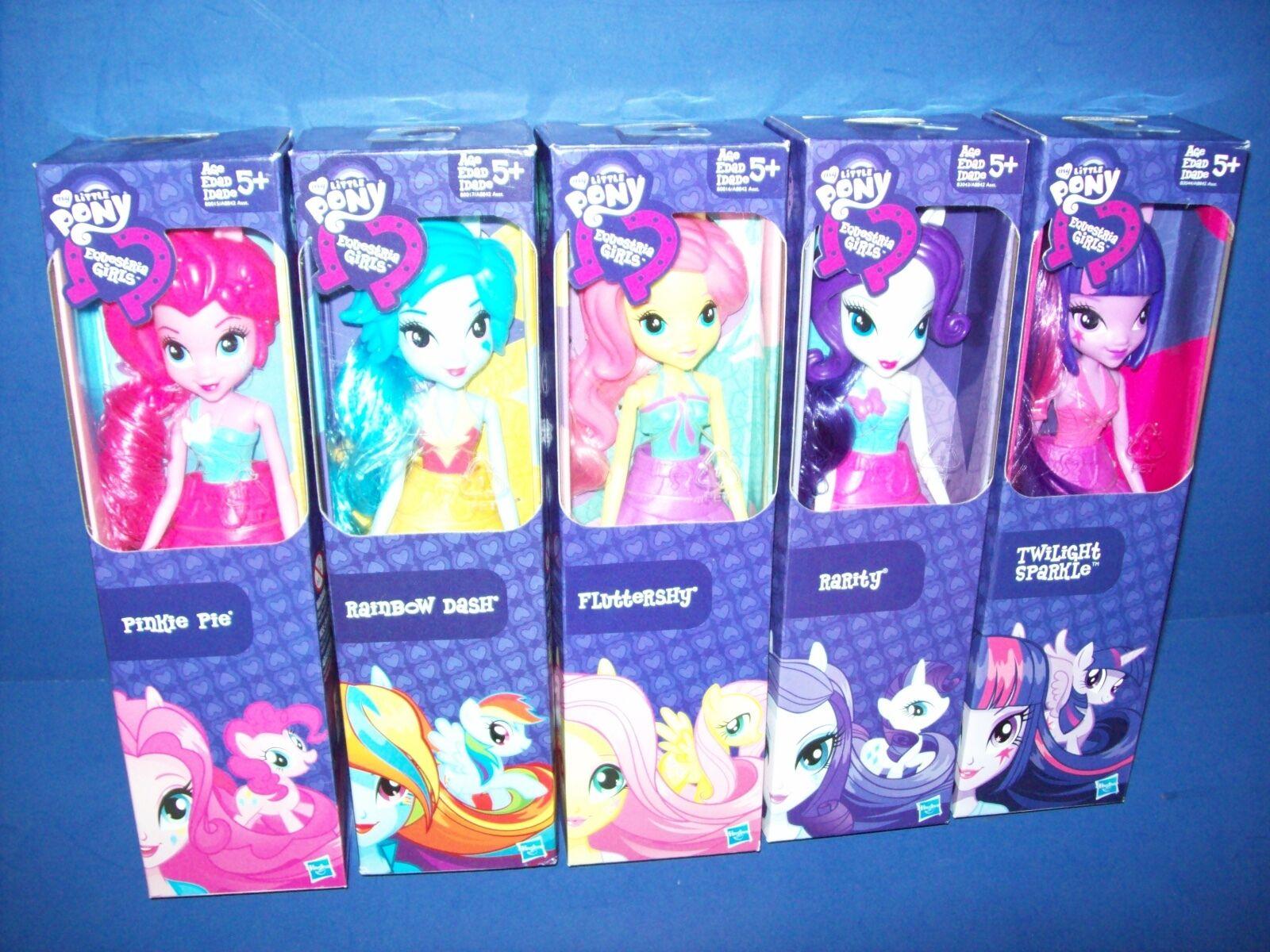 My Little Pony Equestria Girls 5 Muñeca Muchos Rainbow Dash -fluttershy -