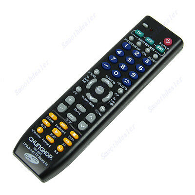 New 3 in 1 Universal TV VCD DVD Remote Control Controller Black