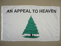 Washington Cruisers Pine Tree Indoor Outdoor Dyed Nylon Historical Flag 3'X5'