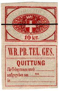 I-B-Austria-Telegraphs-Vienna-Private-Telegram-10kr