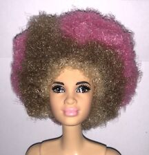 Barbie Fashionistas Model 21 AA Grace NUDE Black Doll Brunette Hair NEW Mbili